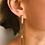 Thumbnail: Simple Geometric Square Long Earrings