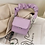 Thumbnail: Draped Handle Solid Colour MINI Crossbody Bags in PINK, WHITE, PURPLE