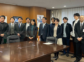 【TOPIC】2025年大阪・関西万博について井上大臣と意見交換を行いました。
