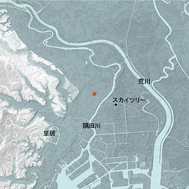 浅草タワー地形図