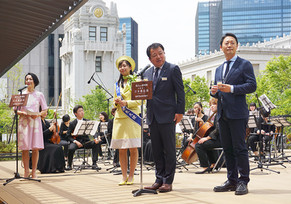 【WORKS】日本橋三越本館屋上に「日本橋庭園」がグランドオープンしました。