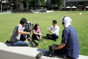 【MEDIA】NHK総合「ニュース シブ5時」で代表の平賀が南池袋公園のグリーンインフラを紹介しました。