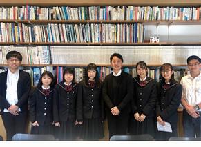 【TOPIC】新潟市の中学1年生が総合学習の一環として弊社を訪ねて来てくれました。