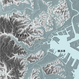 ブローテ横浜高島台地形図