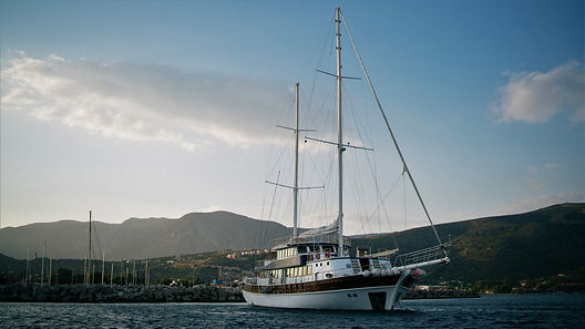 Gullet motor sail cruises in the Aegean