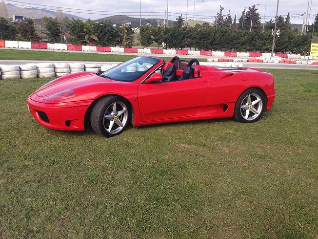 Ferrari drive experience Athens, Ferrari drive experience Greece