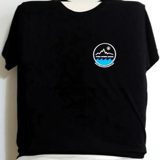 Black tshirt front