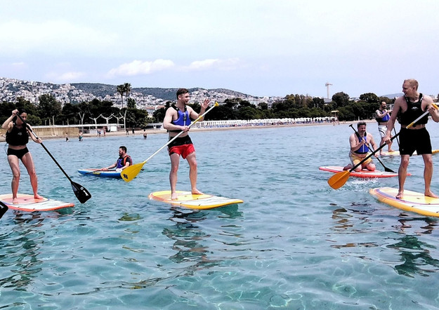 sup surfing - Athens Extreme Sports
