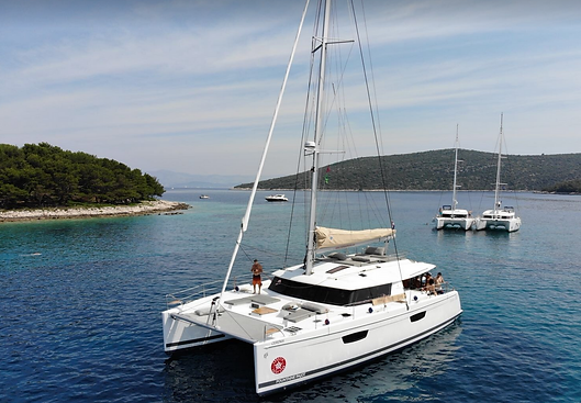 Catamaran 7 days cruise - Athens extreme