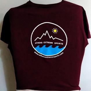 Bordo t-shirt back
