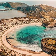 Voidokilia beach - Athens extreme sports