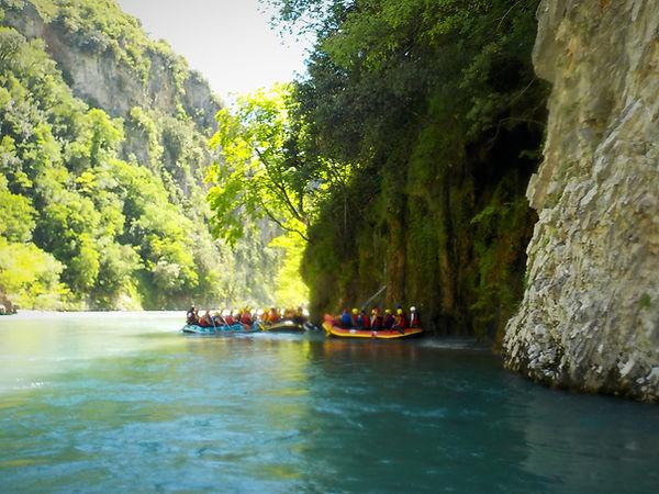 Rafting Aspropotamos - Athens extreme sp