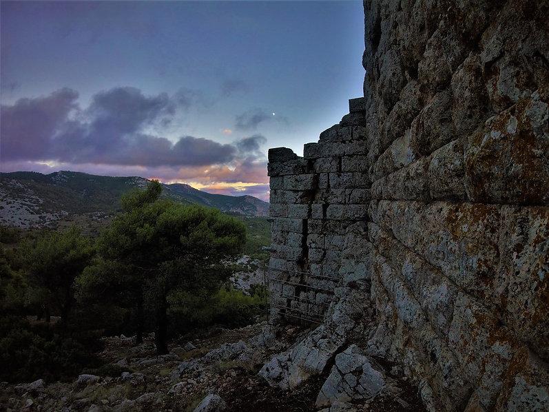 Hiking Athens, trekking Athens, ecotourism Athens Greece, hike in Parnitha