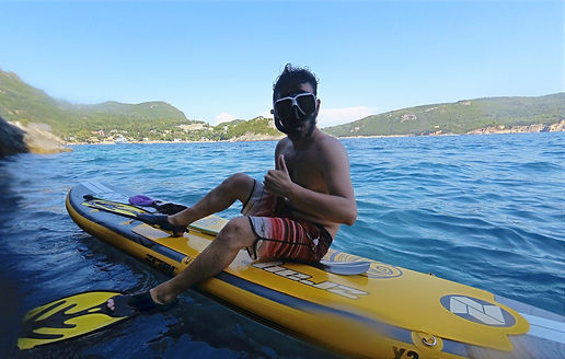 Sup and snorkelling - Athens extreme spo