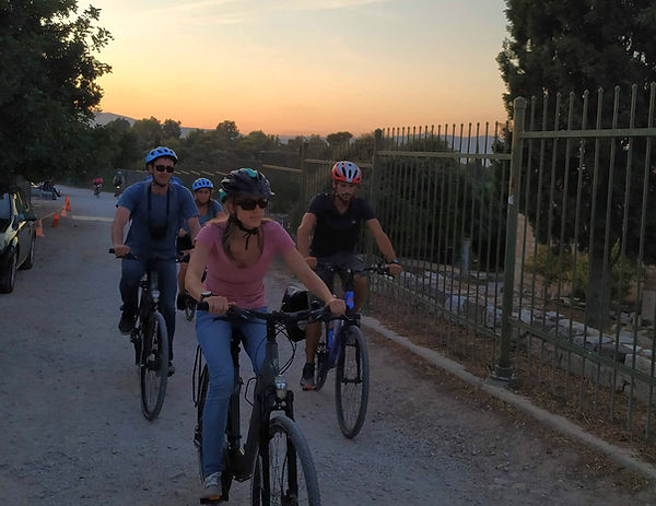 Sunset bike tour - Athens extreme sports