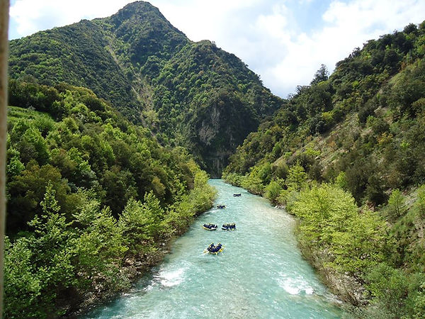 Rafting Arachthos river - Athens extreme