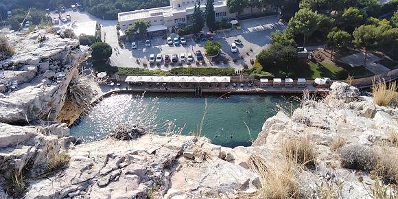 Vouliagmeni lake - Athens extreme sports
