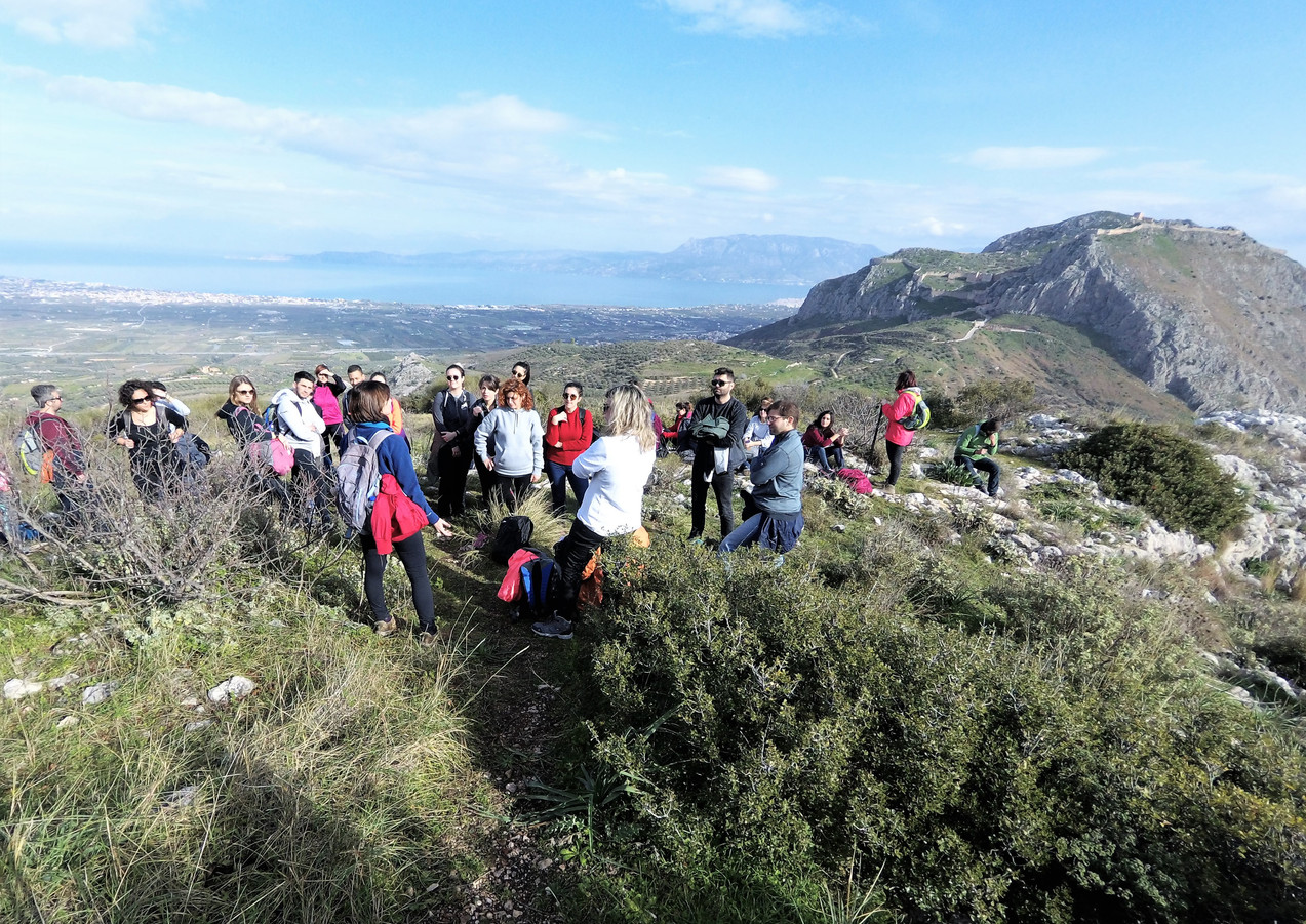 Acrocorinth hiking route - Athens extrem