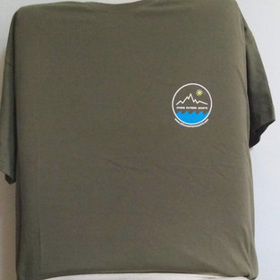 Chaki t-shirt front