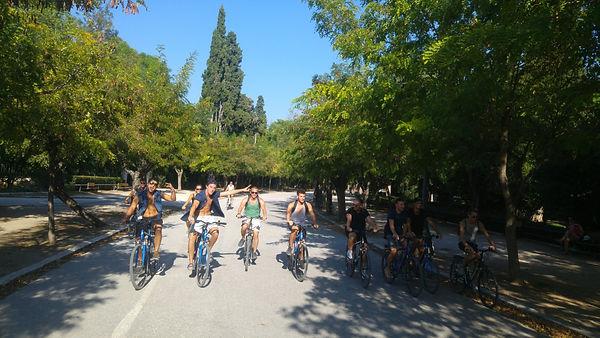 Morning bike tour - Athens extreme sport