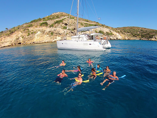 Catamaran day cruise - Athens Extreme Sports