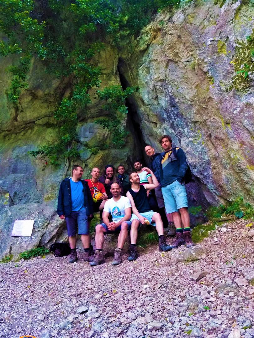 Panas cave at Parnitha Mt - Athens extre