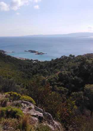 View from Euripides Cave - Athens extrem