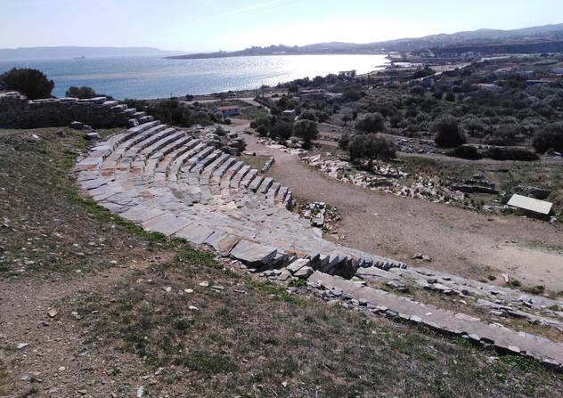 The theater of Thorikos  - Athens extreme sports