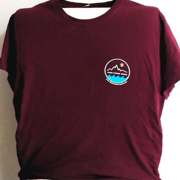 Bordo t-shirt front