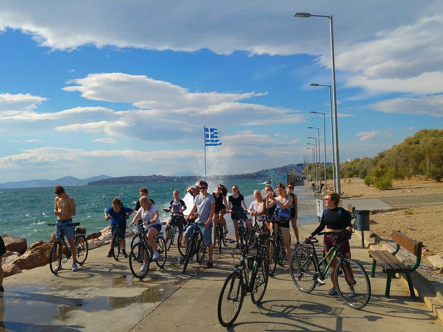 Bike tour to the beach - Athens extreme
