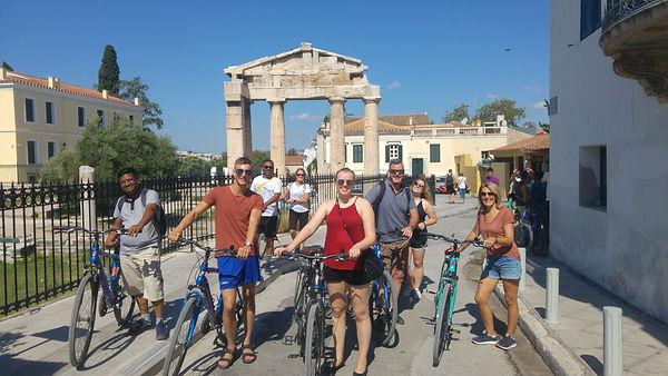 Private bike tour Athens extreme sports.