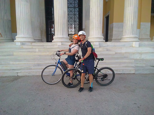 eco bike tours in Ahens - Athens extreme