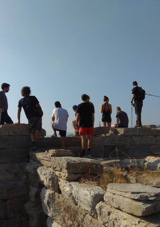 Ancient Corinth - Athens extreme sports.