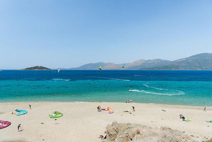 Kitesurf in Greece - Athens extreme spor