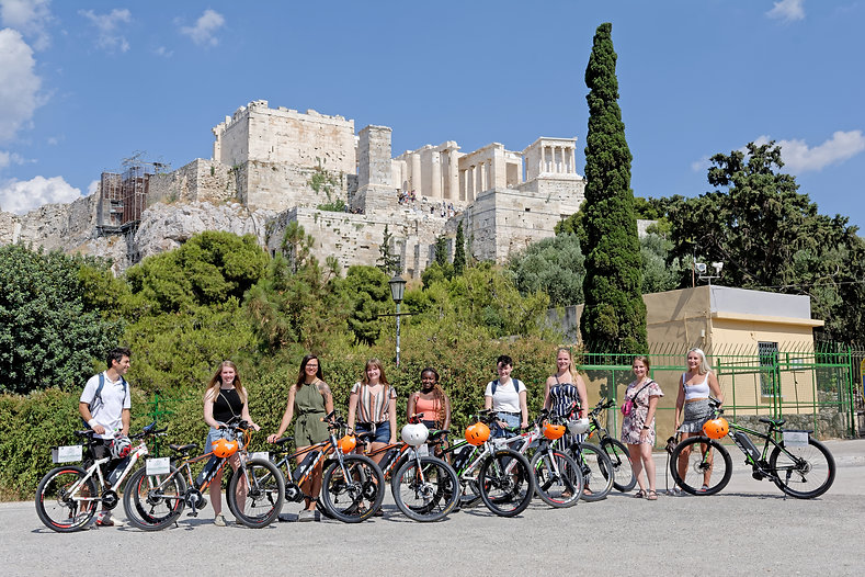 Ecobike tour in city center - Athens ext