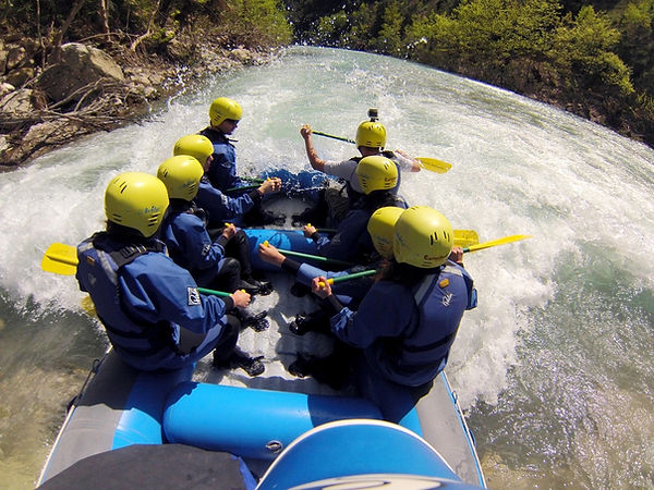 Rafting at Evoinos river - Athens extrem