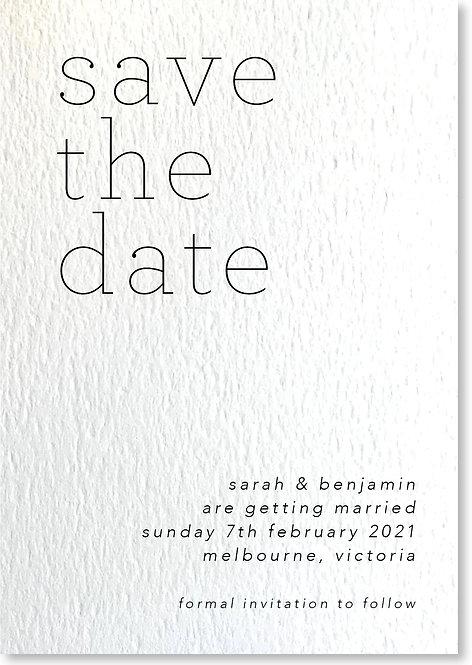 Sarah & Benjamin Design