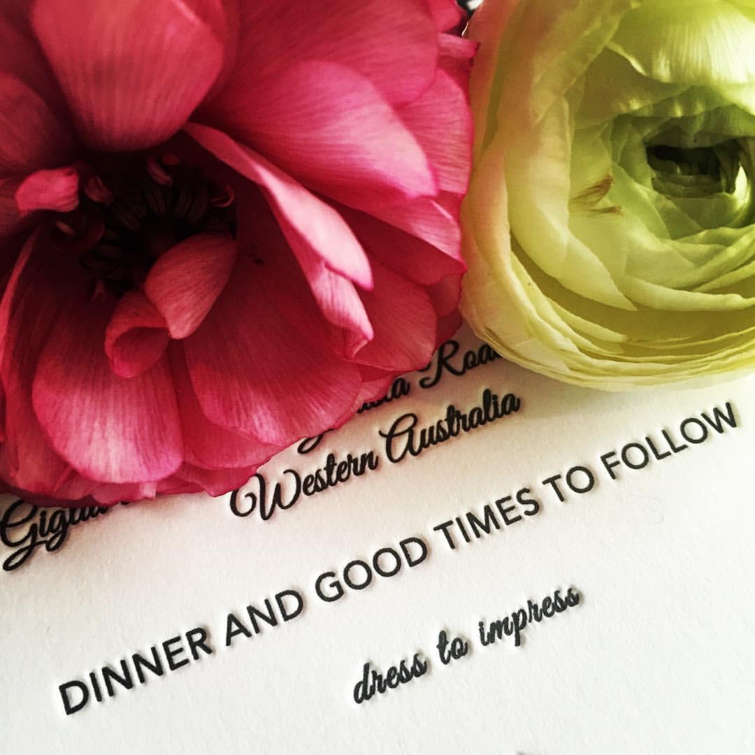 Fentonink Letterpress Wedding Invitations. Cheapest and best.