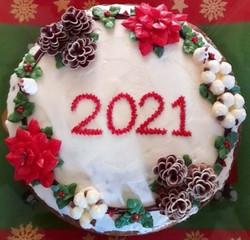 Vasilopita cake