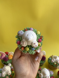Bunny bottom meringue