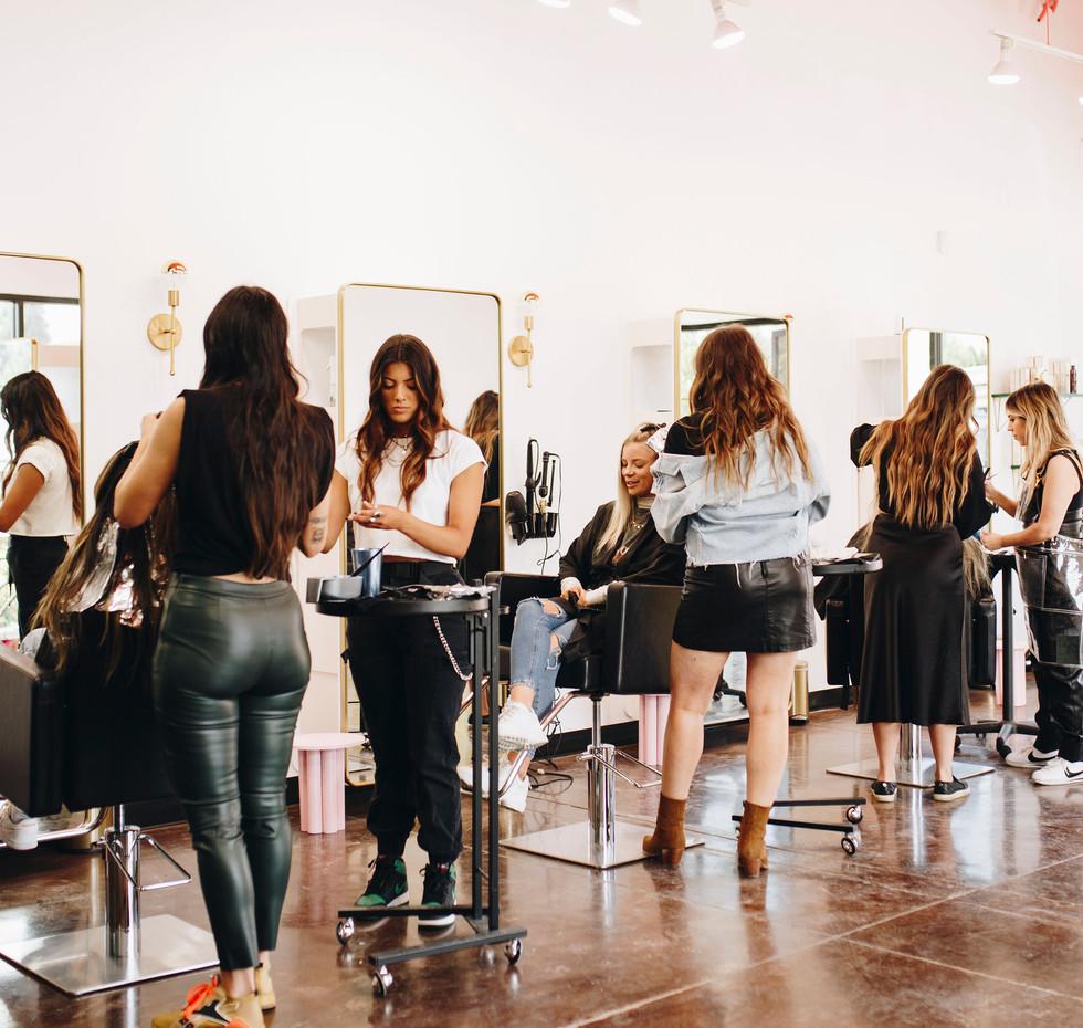 BLEACH Reno's hair color experts