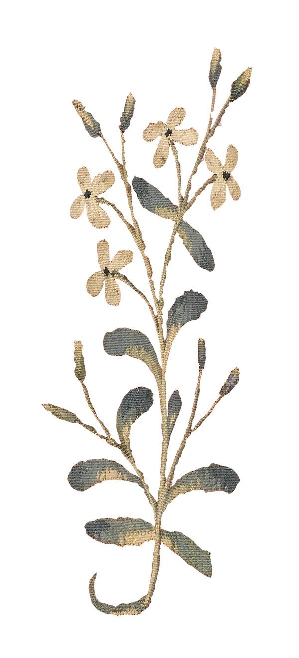 détail de la tapisserie