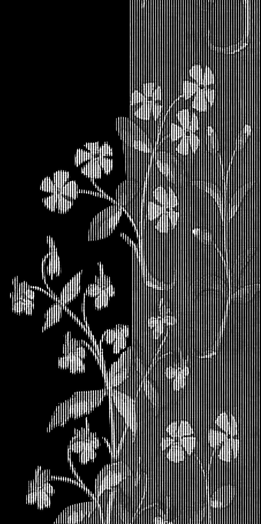 trame sur motif floral