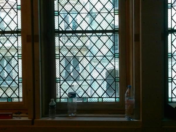 fenêtres sur couloir