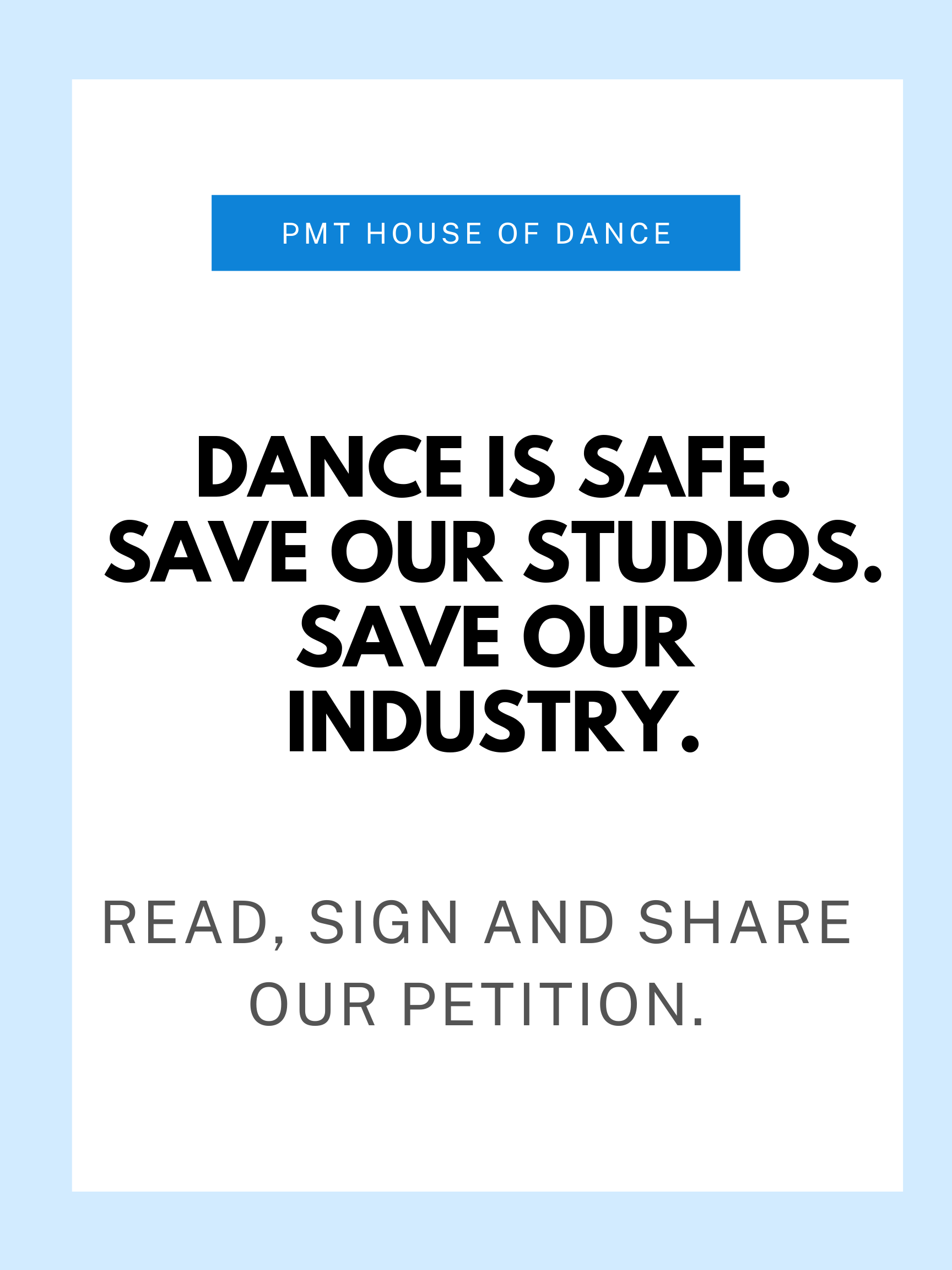 Save Dance in NYC