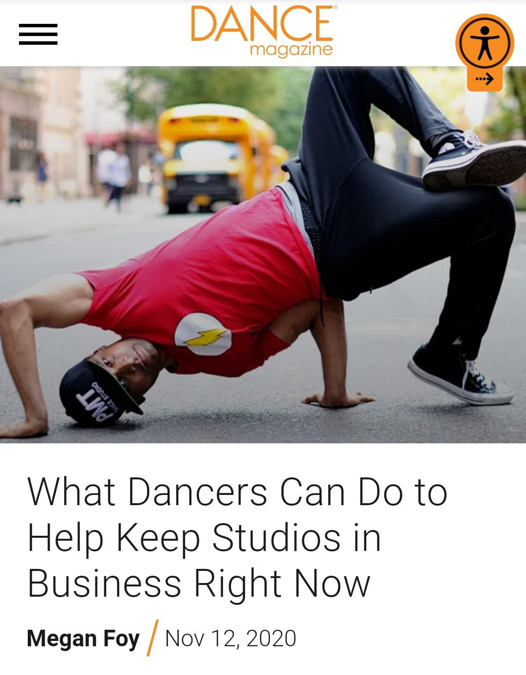 Pavan, PMT & DSA featured in Dance Magazine!