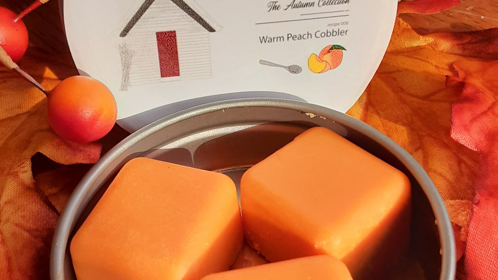 Warm Peach Cobbler 2oz Wax Melts