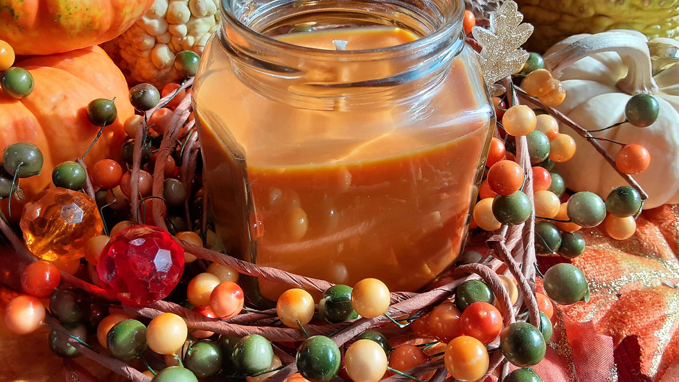 Warm Peach Cobbler 9oz Candle