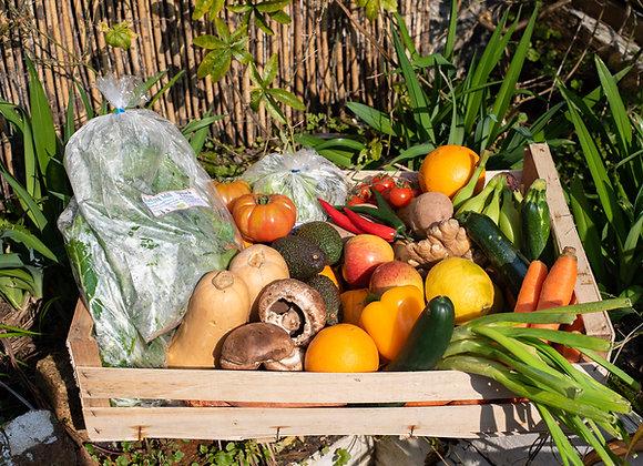 Organic Large Fruit & Veg Box