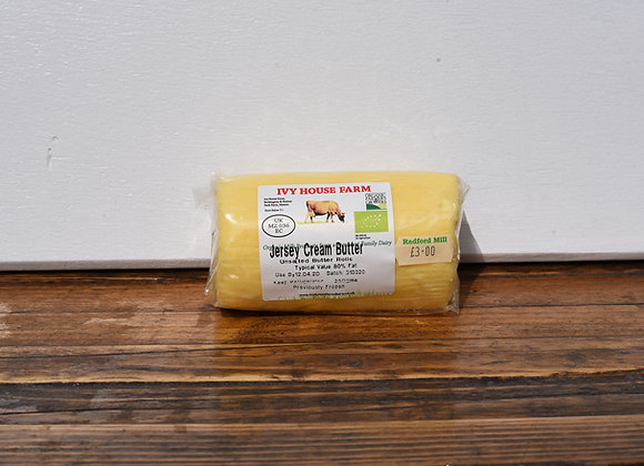 Organic Ivy House Farm Unsalted Butter